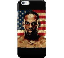 jon bones jones iPhone Case/Skin