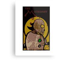 The Mechanist (Full Cover 2) Metal Print