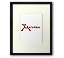The Mechanist Title Framed Print