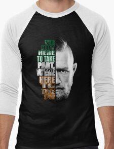 Here to take over flag Men's Baseball ¾ T-Shirt