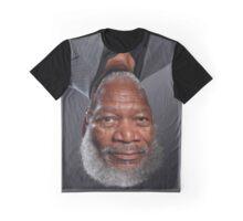 Morgan Freeman Upside Down. Graphic T-Shirt