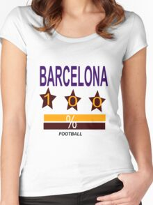 BARCELONA Women's Fitted Scoop T-Shirt