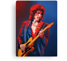 Bob Dylan Painting Canvas Print