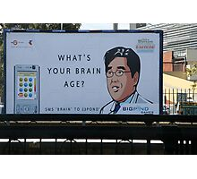 Brain Age Photographic Print