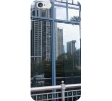 Reflections of a tall building iPhone Case/Skin