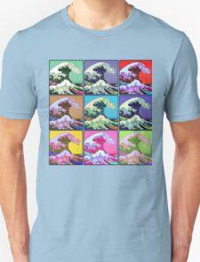 Great Wave Pop Art Unisex T-Shirt