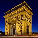 Arc de Triomphe by Randy  LeMoine