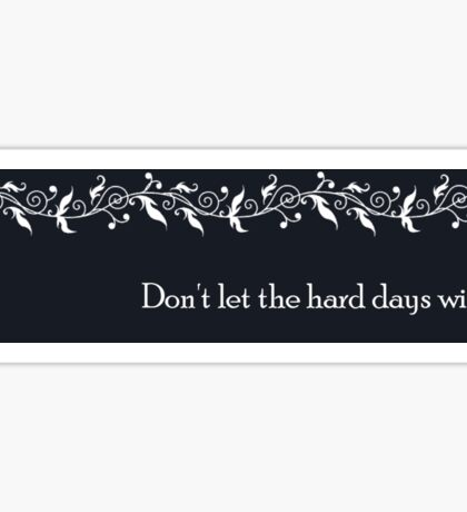A Court of Mist a Fury Teaser Quote Sticker