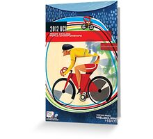 Track Cycling World Championships Poster Greeting Card