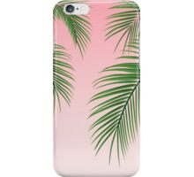 Palm Tree Leaves iPhone Case/Skin