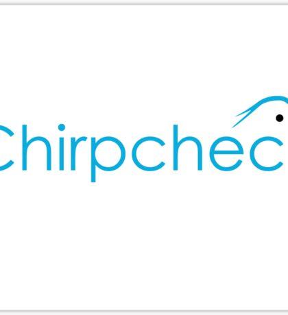 Chirp Check Collateral Sticker