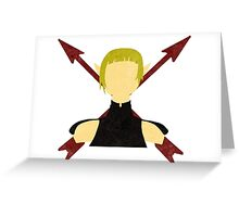 Plus Arrows Greeting Card