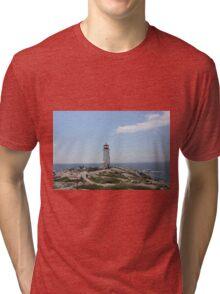 Peggy's Cove Lighthouse Tri-blend T-Shirt