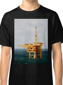 Yellow Oil Rig Classic T-Shirt