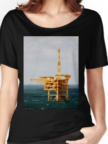 Yellow Oil Rig Women's Relaxed Fit T-Shirt