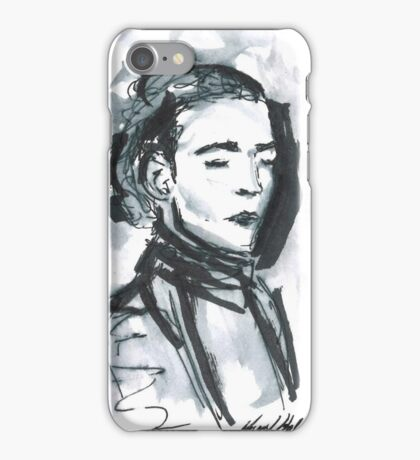 The 1975 Matty Healy with Turtleneck  iPhone Case/Skin