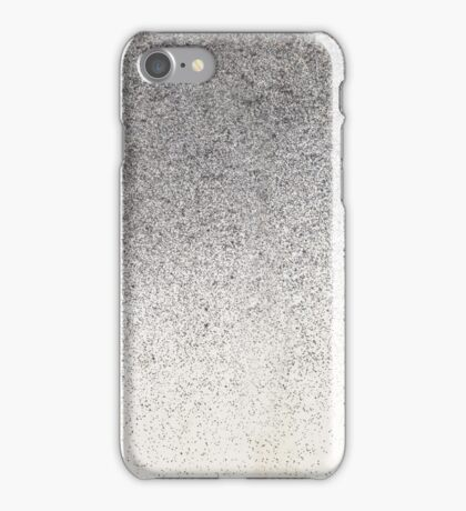Pigment spray on Chinese Paper grey golden iPhone Case/Skin
