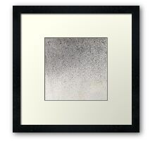 Pigment spray on Chinese Paper grey golden Framed Print