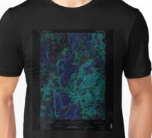 USGS TOPO Map Connecticut CT New Britain 330704 1966 24000 Inverted Unisex T-Shirt