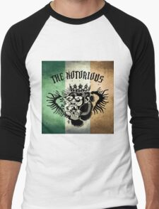 Notorious TriColour Gorilla  Men's Baseball ¾ T-Shirt
