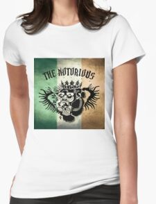 Notorious TriColour Gorilla  Womens Fitted T-Shirt