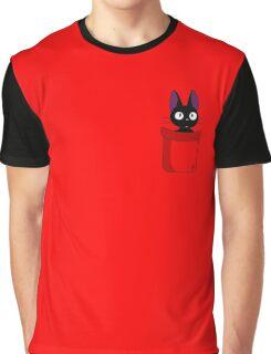 Pocket Jiji Graphic T-Shirt