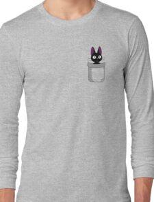 Pocket Jiji Long Sleeve T-Shirt