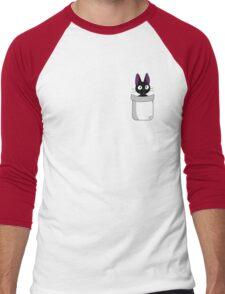 Pocket Jiji Men's Baseball ¾ T-Shirt