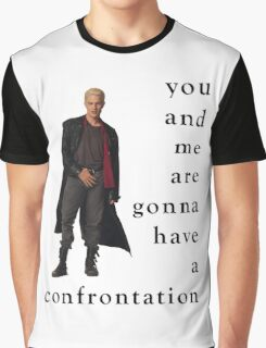 Spike Confrontation Graphic T-Shirt