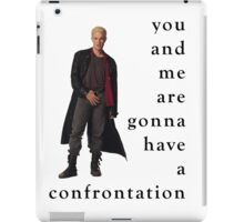 Spike Confrontation iPad Case/Skin
