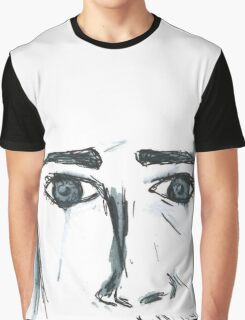 The 1975 Matty Healy Sad Eyes  Graphic T-Shirt