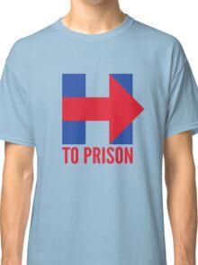 Hillary Clinton To Prison (Logo) Classic T-Shirt