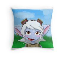Tristana Throw Pillow