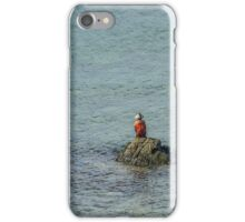 Angler on a Rock iPhone Case/Skin