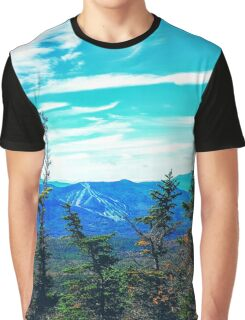 WaterVille Valley from The Tripyramids Graphic T-Shirt