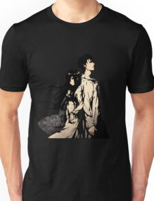 Steins;Gate Kurisu and Okabe Anime Unisex T-Shirt