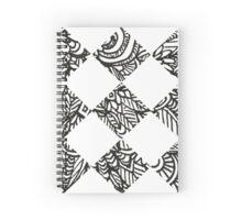 Doodles Tiles Shaped Spiral Notebook