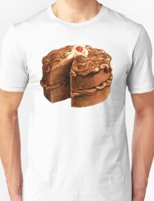 Chocolate Cake Pattern T-Shirt