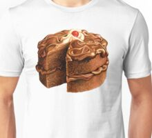 Chocolate Cake Pattern Unisex T-Shirt