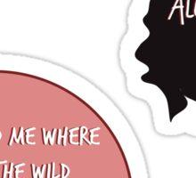 Wild Thingss Sticker