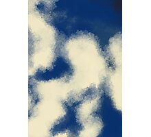 Crystal clouds abstract artwork Photographic Print