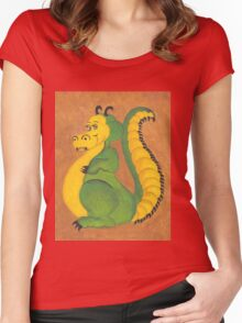 Pet dragon Women's Fitted Scoop T-Shirt