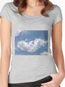 A Broken Heart  Women's Fitted Scoop T-Shirt