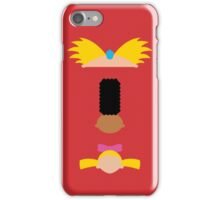 Minimalist Hey Arnold iPhone Case/Skin