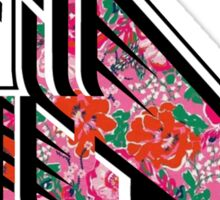 Ball State University - Lilly Pulitzer Sticker