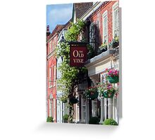 The Old Vine, Kensale, Ireland 2014 Greeting Card