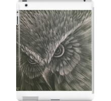 Owl scratch iPad Case/Skin