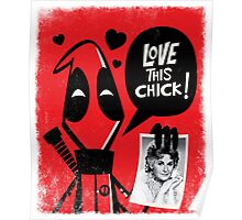 LOVE THIS CHICK!! Poster