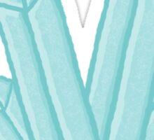 Light Blue Crystal Sticker