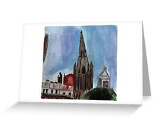 Here Is The Steeple.. Greeting Card